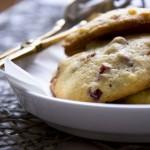 Cookies mit Cranberries und Haselnüssen