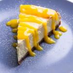 Käsekuchen mit Mango