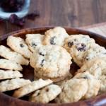 Haferflocken-Cranberry-Cookies mit Tonkabohne