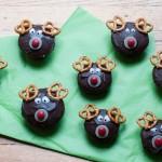 Weihnachtliche Rentier-Muffins