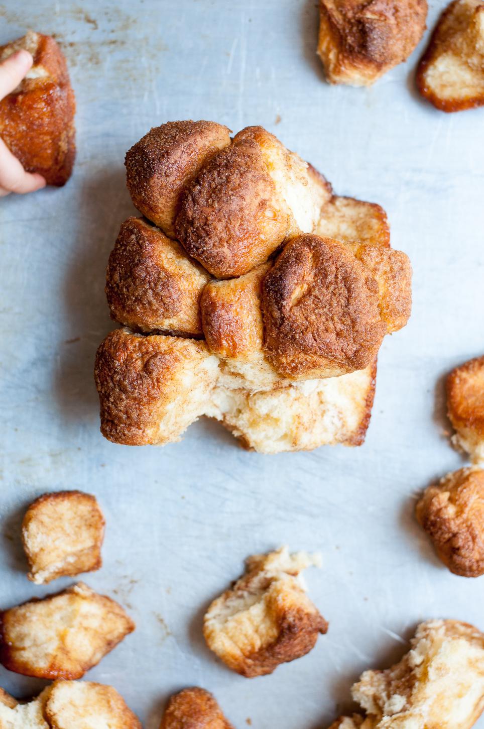Von Monkey Bread kann sich jeder ein Stück abzupfen
