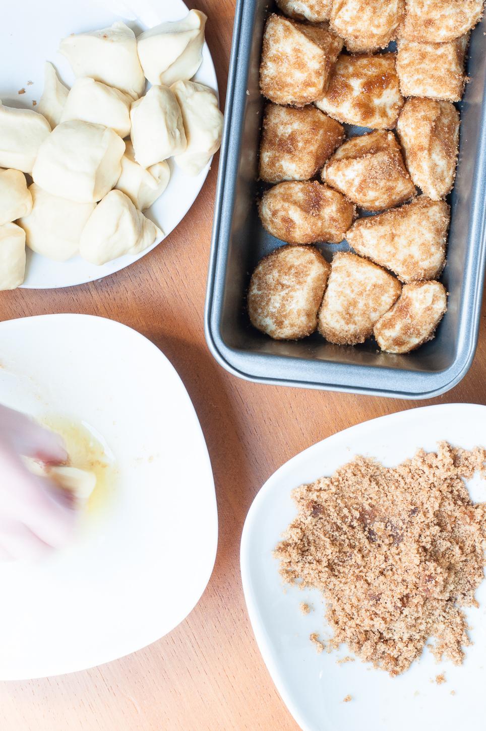 Zubereitung von Monkey Bread