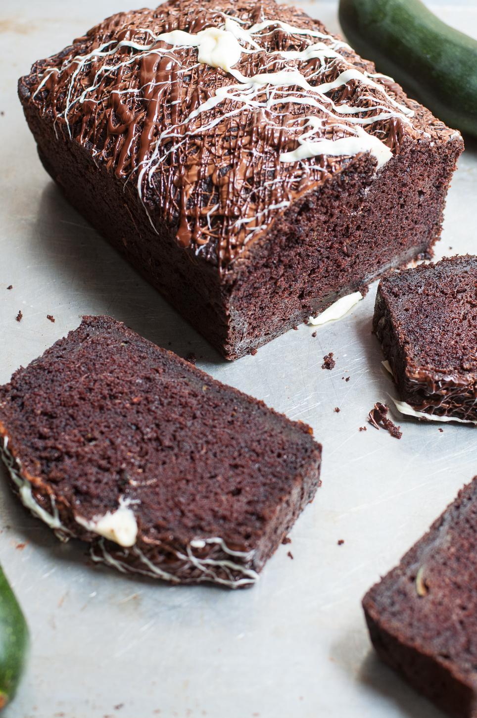 Super-saftiger Schokoladenkuchen mit Zucchini